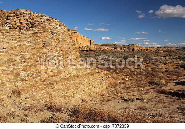 Pueblo Ruins - csp17072339