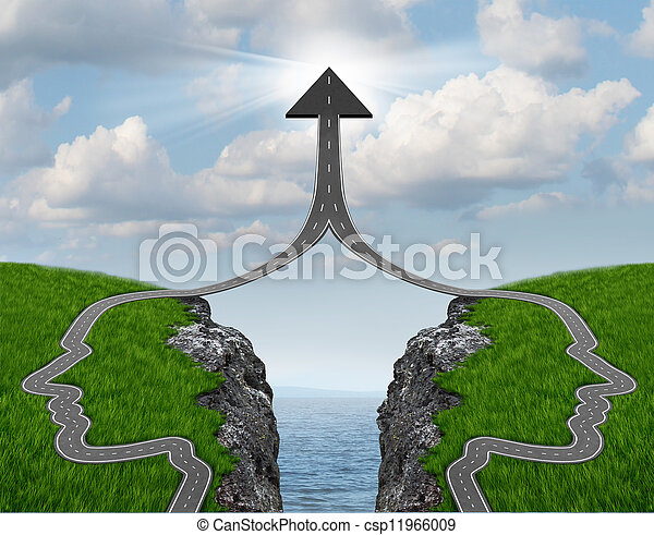 Puente a la brecha - csp11966009
