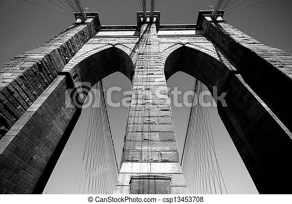 El puente de Brooklyn - csp13453708