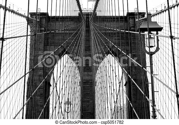 El puente de Brooklyn - csp5051782