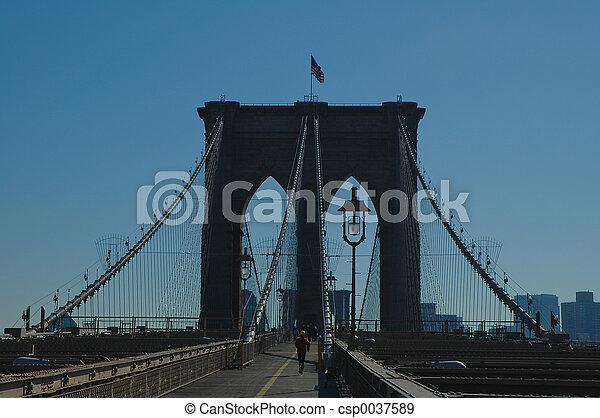 Puente de Brooklyn - csp0037589