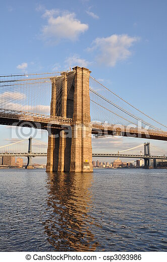 El puente de Brooklyn - csp3093986