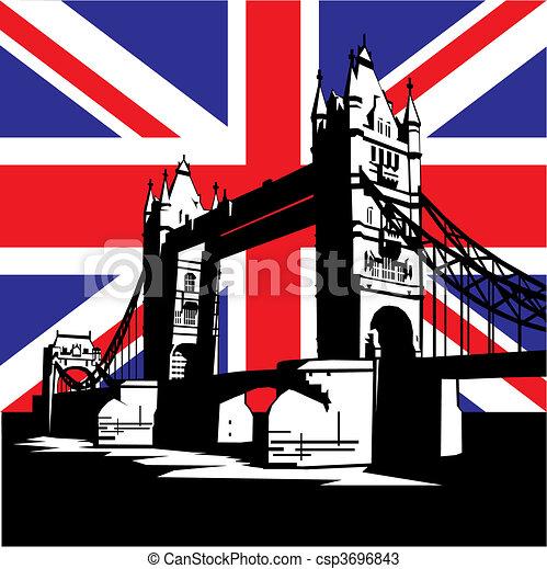 El puente de Londres - csp3696843