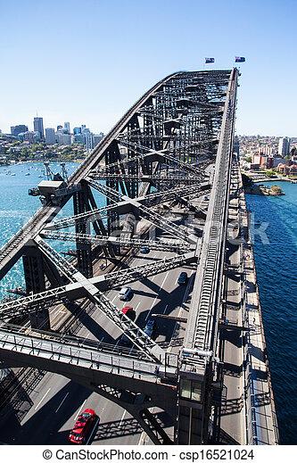 Sydney del norte del puente del puerto - csp16521024