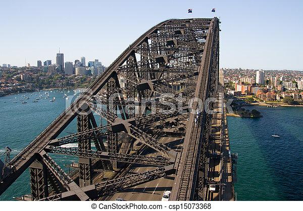 Sydney del norte del puente del puerto - csp15073368