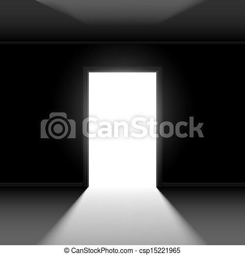Abre la puerta - csp15221965