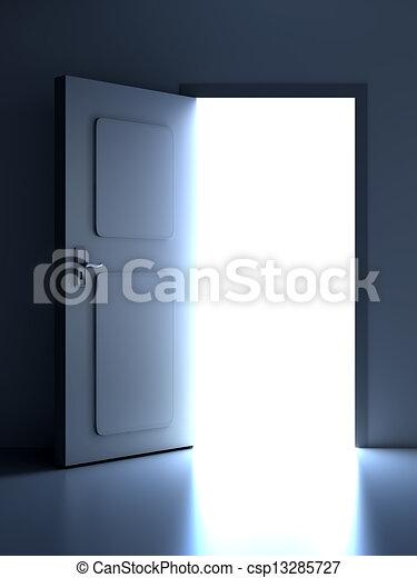 Abre la puerta - csp13285727
