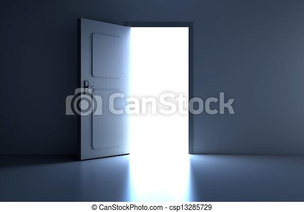 Abre la puerta - csp13285729