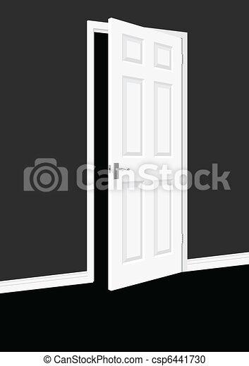 Abre la puerta - csp6441730
