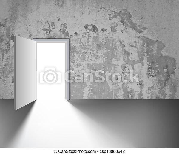 Abre la puerta - csp18888642