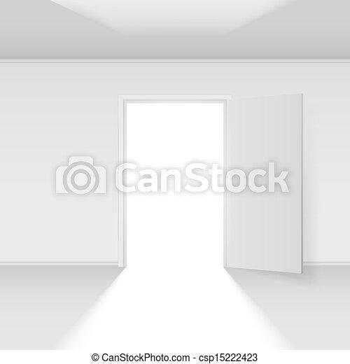 Abre la puerta - csp15222423