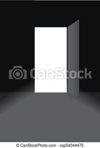 Abre la puerta - csp54344475