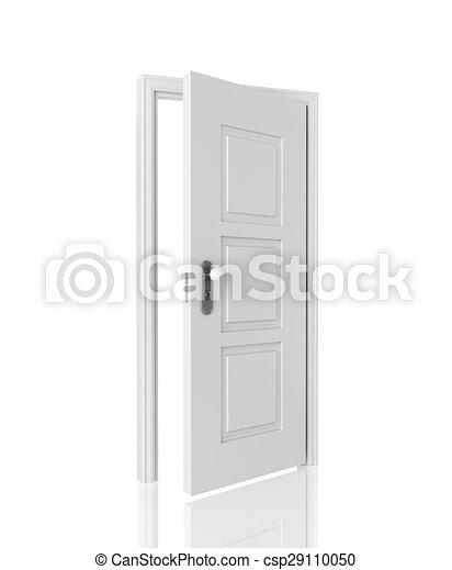 Abre la puerta - csp29110050
