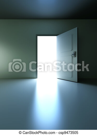Abre la puerta - csp9473505