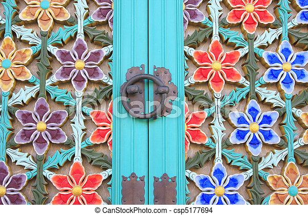 Puerta del Templo - csp5177694