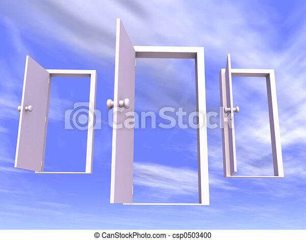 Abran las puertas - csp0503400