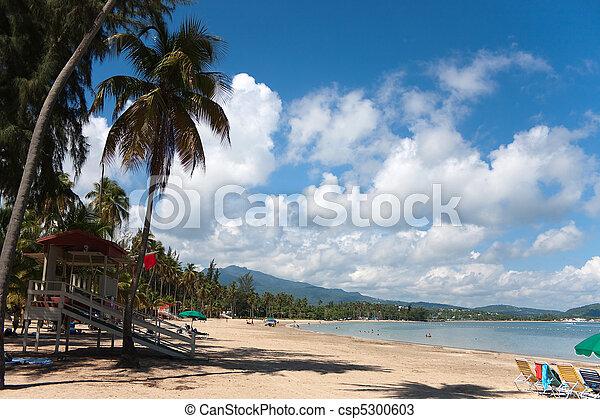 Luquillo Beach Puerto Rico - csp5300603