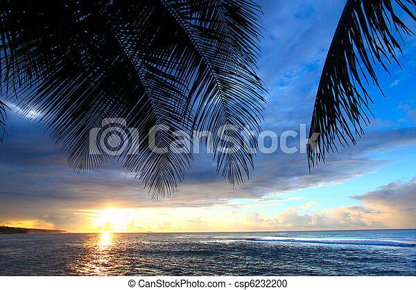 Puerto Rico Sunset - csp6232200