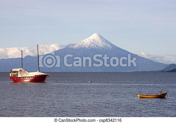 puerto, varas, chile - csp8342116