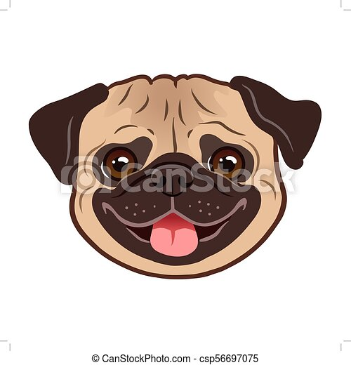 Must see Korea Chubby Adorable Dog - pug-dog-cartoon-illustration-cute-image_csp56697075  2018_885586  .jpg