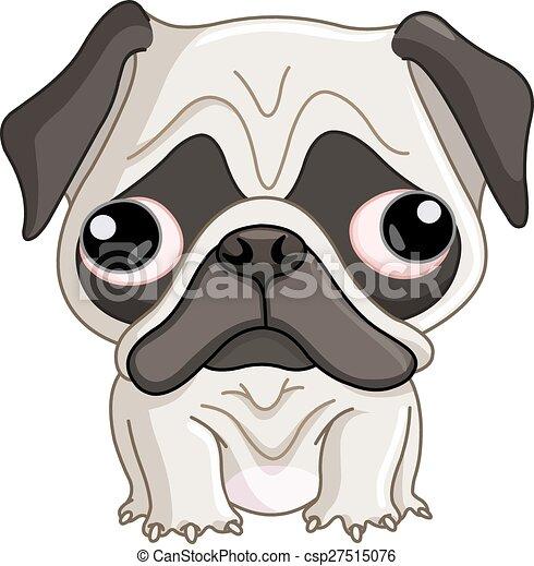 Pug dog - csp27515076