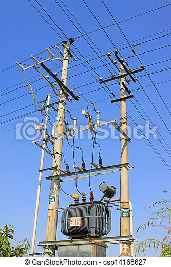 puissance, transformateur - csp14168627