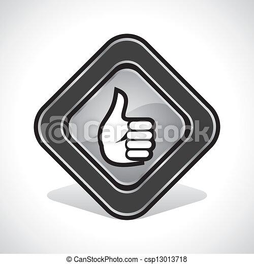Pulgares como diseño de iconos - csp13013718