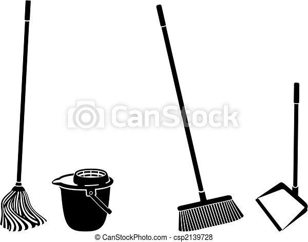 pulizia, pavimento - csp2139728