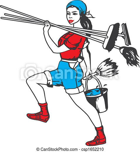 pulizia, servizio - csp1652210