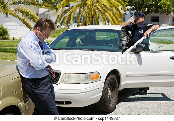 Pulled Over - csp1149627