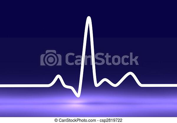 Heartbeat Line Art : Pulse trace d rendered illustration heartbeat graph clip art