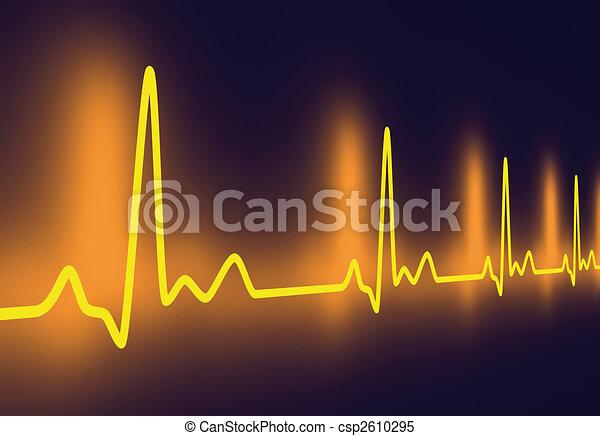 Heartbeat Line Art : Pulse trace d rendered illustration heartbeat graph stock