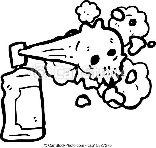 pulvrisation graffiti dessin anim crne bote csp15527276 - Dessin Graffiti