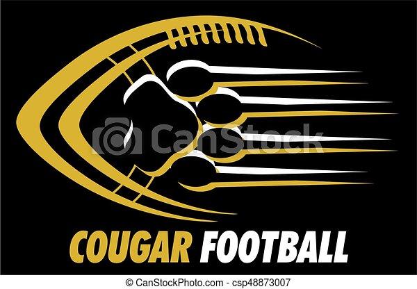 Fútbol de Cougar - csp48873007