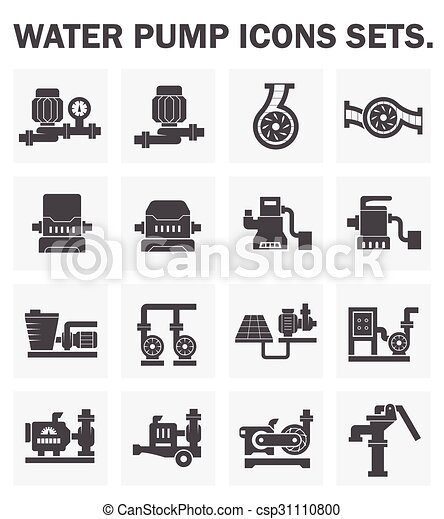 Pump icons - csp31110800
