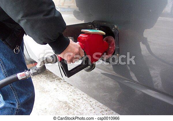Pumping gas - csp0010966