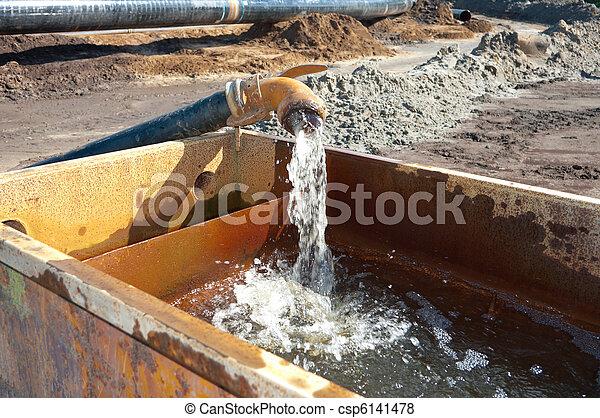 pumping water - csp6141478