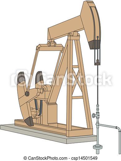 Pumpjack  - csp14501549