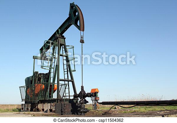 pumpjack - csp11504362