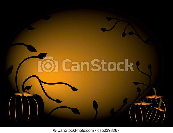 Pumpkin Background - csp0393267