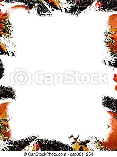 Pumpkin Border - csp0011254
