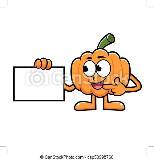 pumpkin character directed to business card halloween day clip rh canstockphoto com business card clip art free visiting card clipart