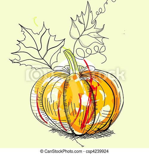 Pumpkin - csp4239924
