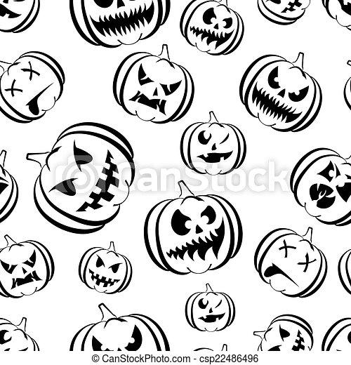 pumpkin Halloween - csp22486496
