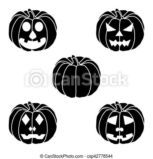 pumpkin halloween - csp42778544