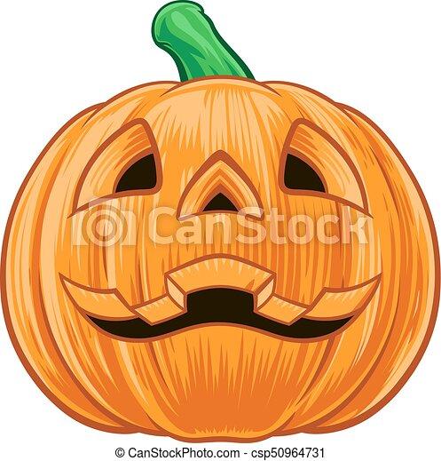 pumpkin halloween illustration an illustration of a cartoon
