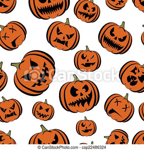 pumpkin Halloween - csp22486324