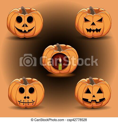 pumpkin halloween - csp42778528