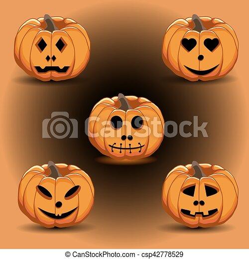 pumpkin halloween - csp42778529