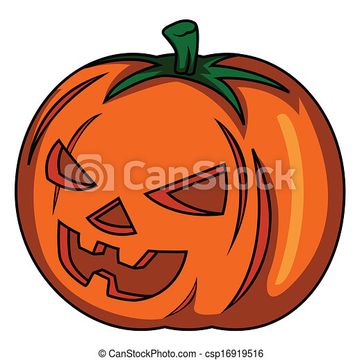 pumpkin halloween - csp16919516